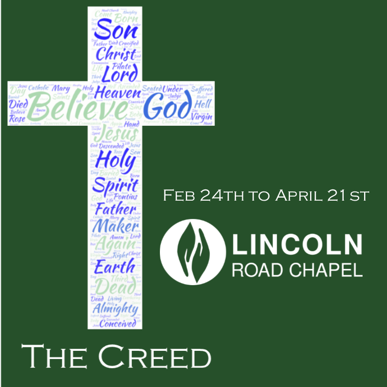 Teaching Series: The Creed